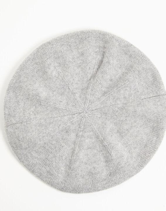 Beret gris en cachemire Ustave (3) - 1-2-3