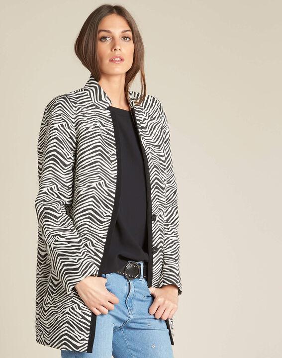 Manteau imprimé animalier Klarisse (3) - 1-2-3