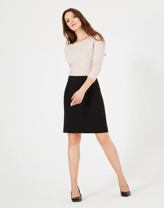 Folk black tailored skirt PhotoZ | 1-2-3