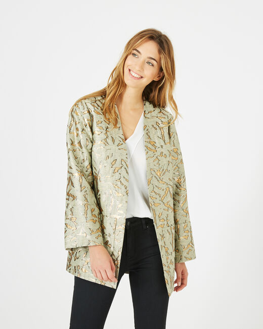 Matata shiny jacquard jacket (1) - 1-2-3