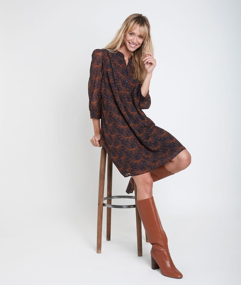 Robe imprimée Colline PhotoZ | 1-2-3