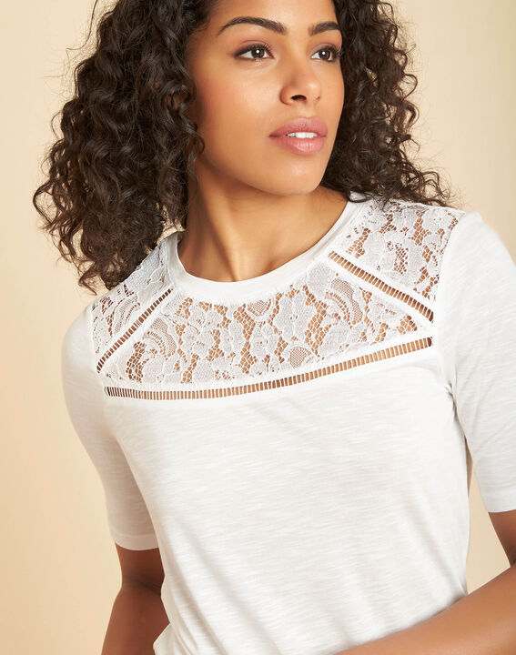 Envy ecru lace T-shirt PhotoZ | 1-2-3