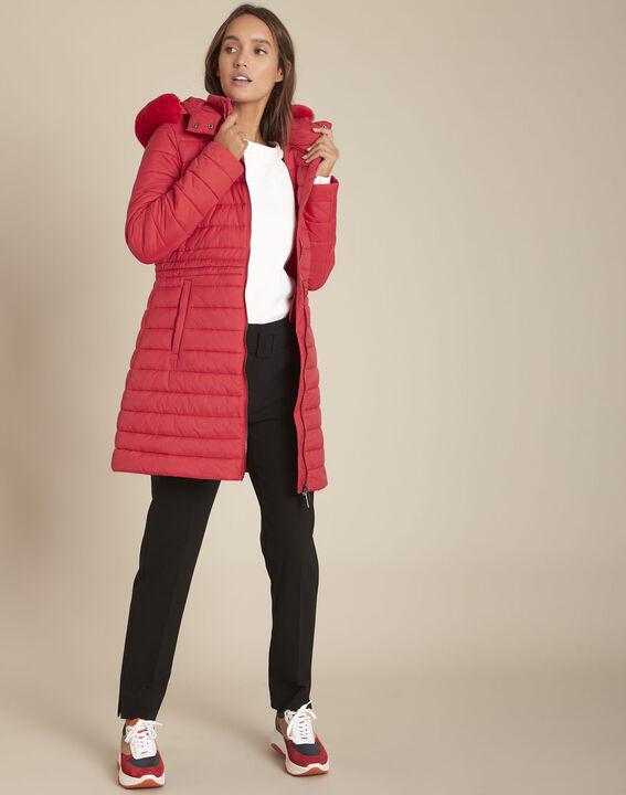 Doudoune longue rouge Leila PhotoZ | 1-2-3