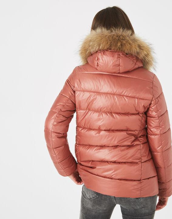 Lena short, old rose puffer jacket (4) - 1-2-3
