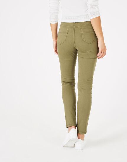 Pantalon kaki 7/8ème Oliver (5) - 1-2-3