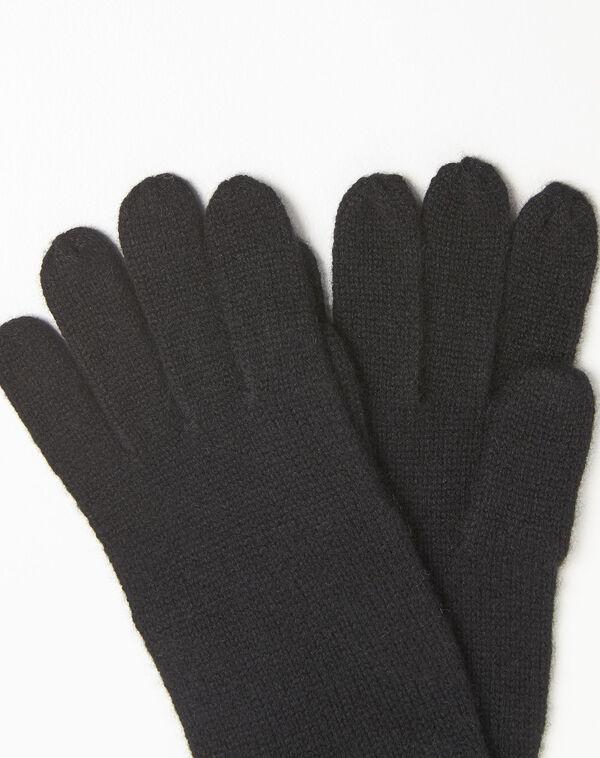 Gants noirs en cachemire Ustavio (2) - 1-2-3