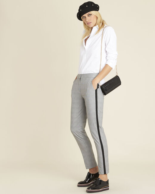 Graue Hose mit Glencheck-Muster Home (1) - 1-2-3