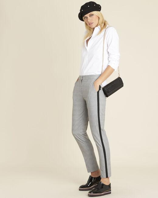 Pantalon gris motif Prince de Galles Home (1) - 1-2-3