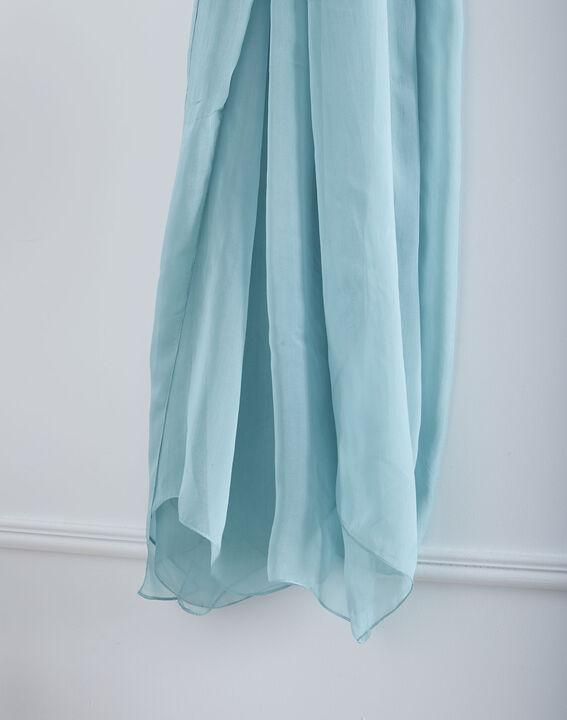Foulard bleu en soie Alice (2) - Maison 123