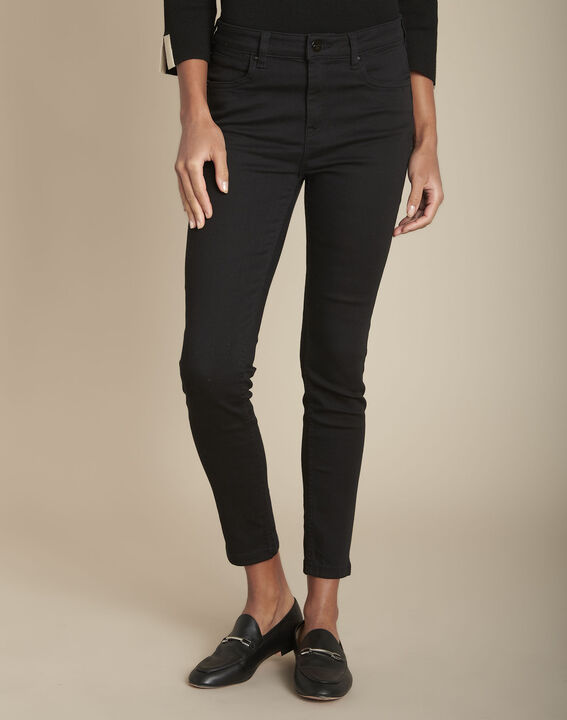 L'Audacieux skinny jean noir Sally PhotoZ | 1-2-3