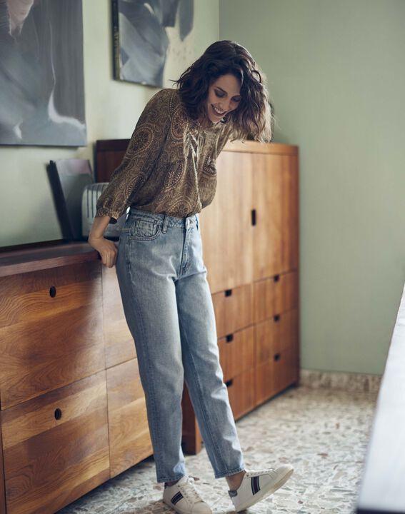 Le Lovely mum jean pure bleached Solene PhotoZ | 1-2-3