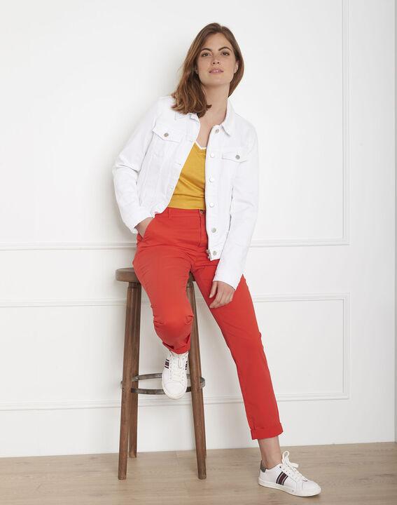 Veste en jean blanche Clem (3) - Maison 123