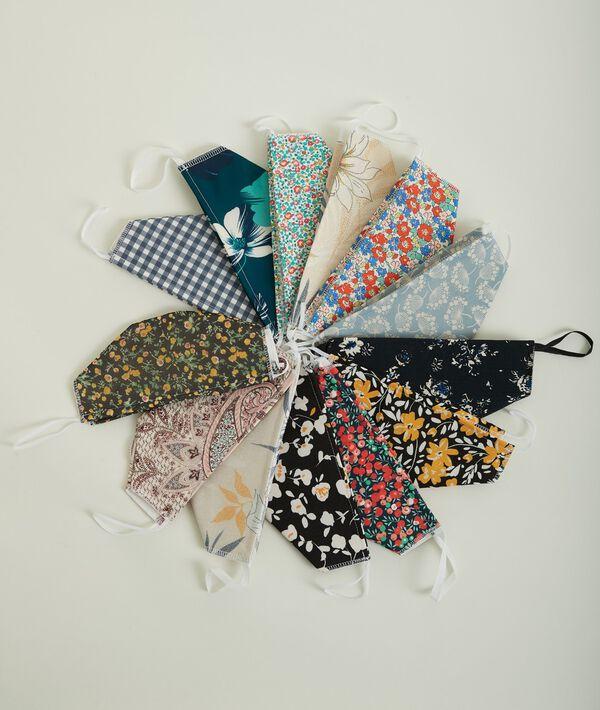 Masque barrière textile lavable PhotoZ | 1-2-3