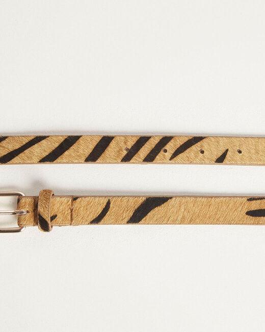 Romeo printed belt in camel (2) - 1-2-3