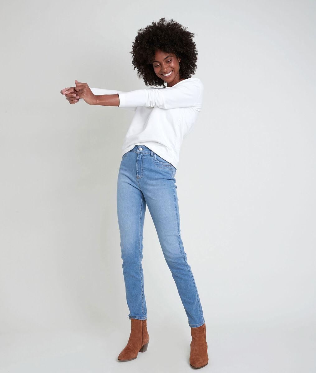 L'iconique slim jean pure bleached Suzy PhotoZ | 1-2-3