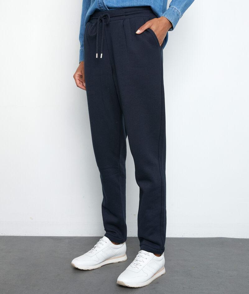 Pantalon molletoné bleu marine Everest PhotoZ | 1-2-3