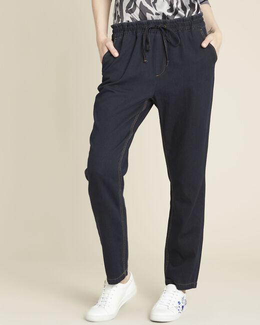 Pantalon marine slim à cordon Helory (2) - 1-2-3