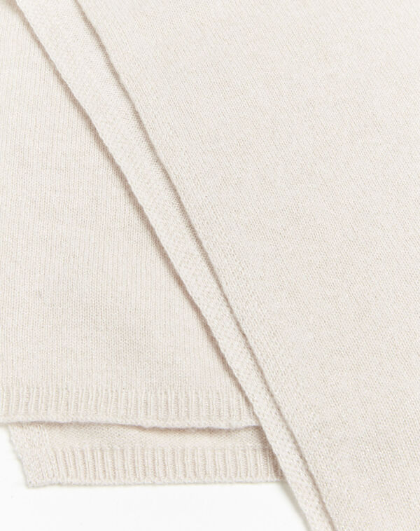 Felicia pale pink cashmere scarf (1) - 1-2-3