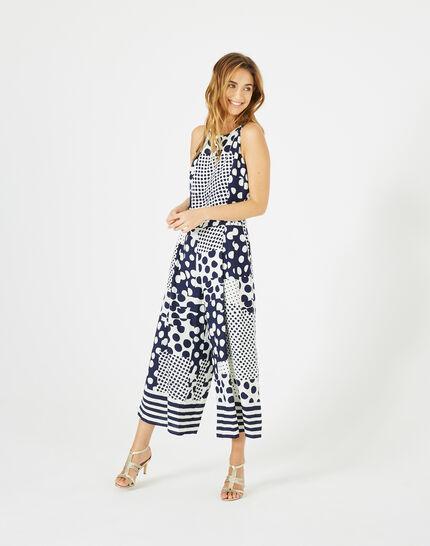 Amande cropped printed jumpsuit (1) - 1-2-3