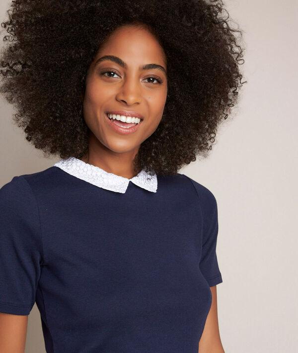 Tee-shirt col claudine Rosie PhotoZ | 1-2-3
