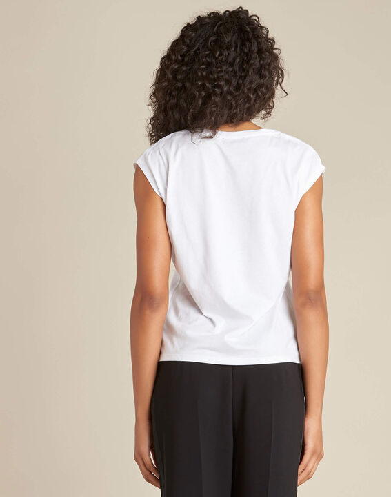Elodie white stereographed T-shirt (4) - 1-2-3