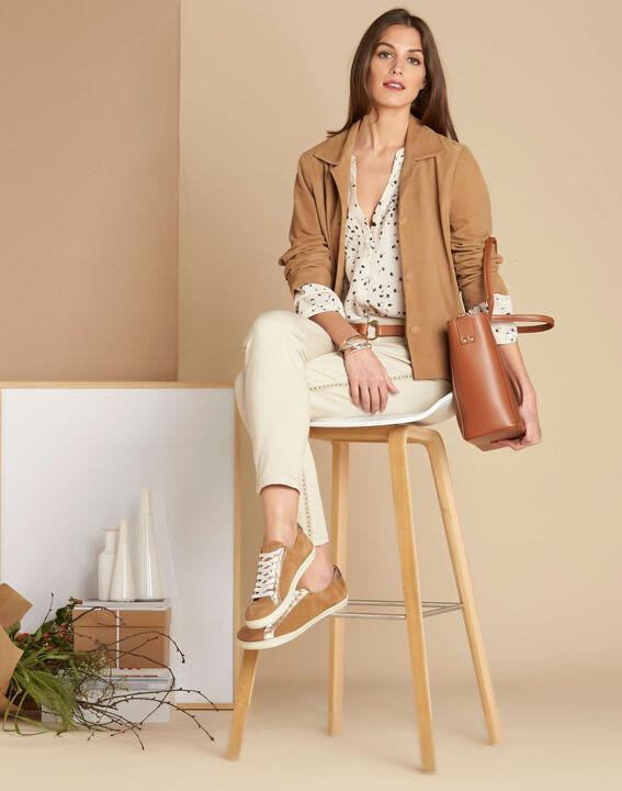 Debbie camel leather tote bag (4) - 1-2-3