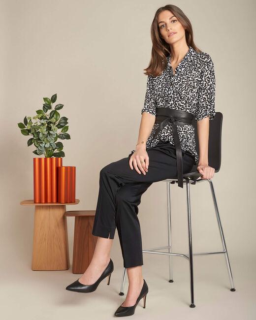 Ravel black floral patterned shirt (1) - 1-2-3