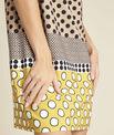 Gele jurk met stippenprint Dakota PhotoZ | 1-2-3