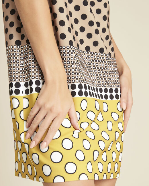 Dakota yellow polka dot dress (2) - 1-2-3