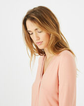 Barbara nude t-shirt salmon.