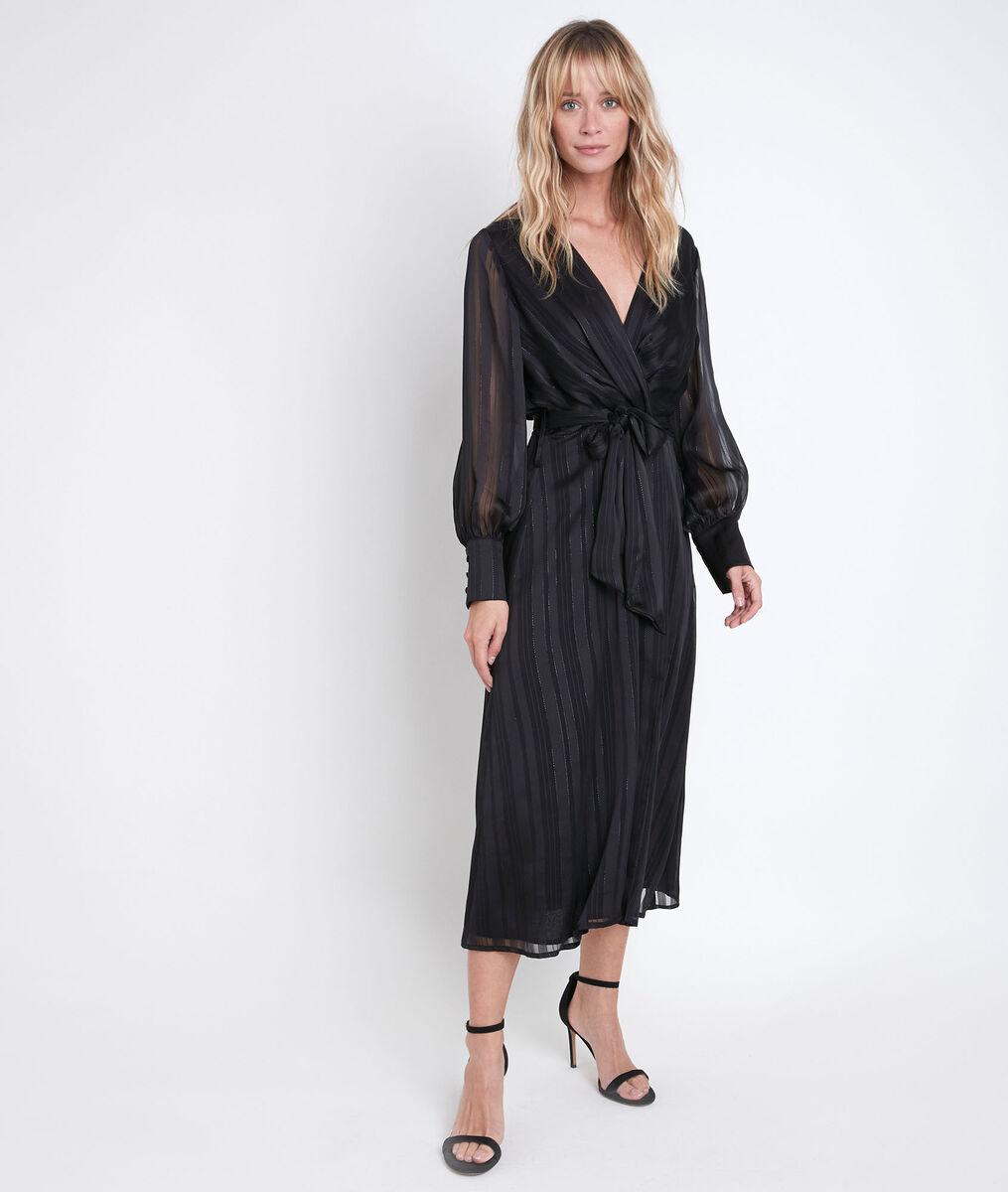 Robe longue portefeuille Catherine PhotoZ | 1-2-3
