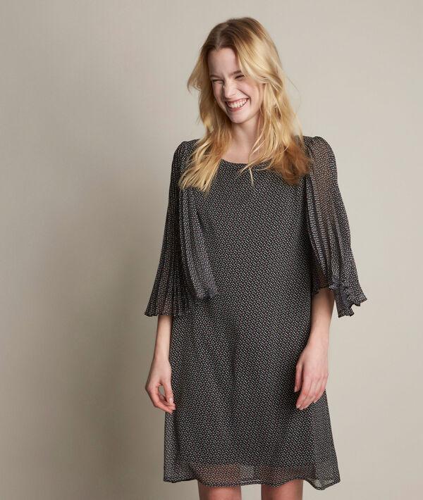 Robe imprimée en crêpe Olivia PhotoZ | 1-2-3