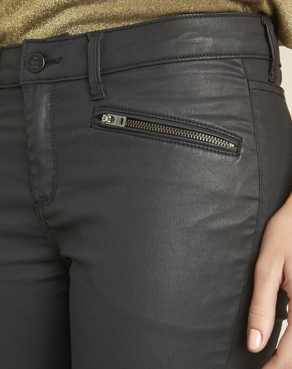 Zwarte slim-fit jeans Turenne (2) - 37653