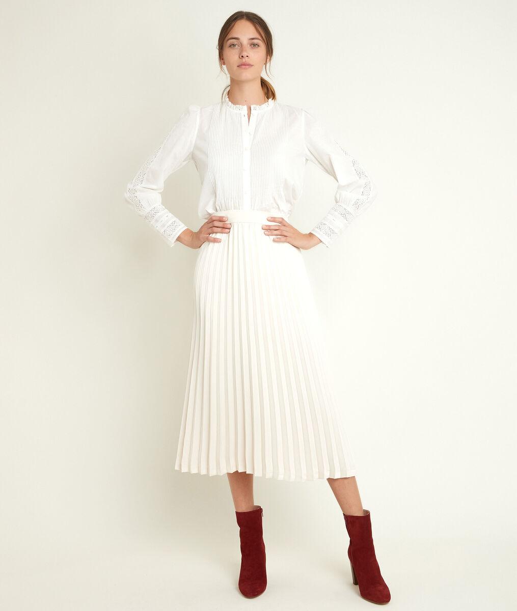Jupe plissée longue Gina PhotoZ | 1-2-3