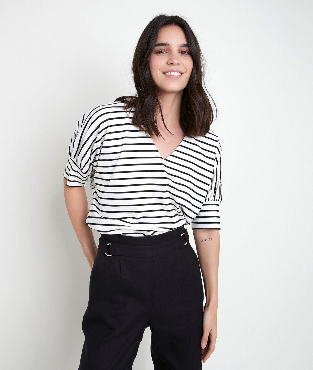 Tee-shirt rayé Inzo PhotoZ | 1-2-3