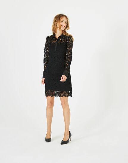 Amazone black lace dress (1) - 1-2-3