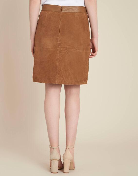Lissandro camel leather skirt (4) - 1-2-3