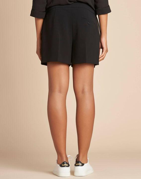 Sabi darted black shorts (3) - 1-2-3