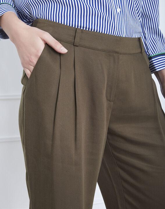 Pantalon kaki large Giovanna (4) - Maison 123