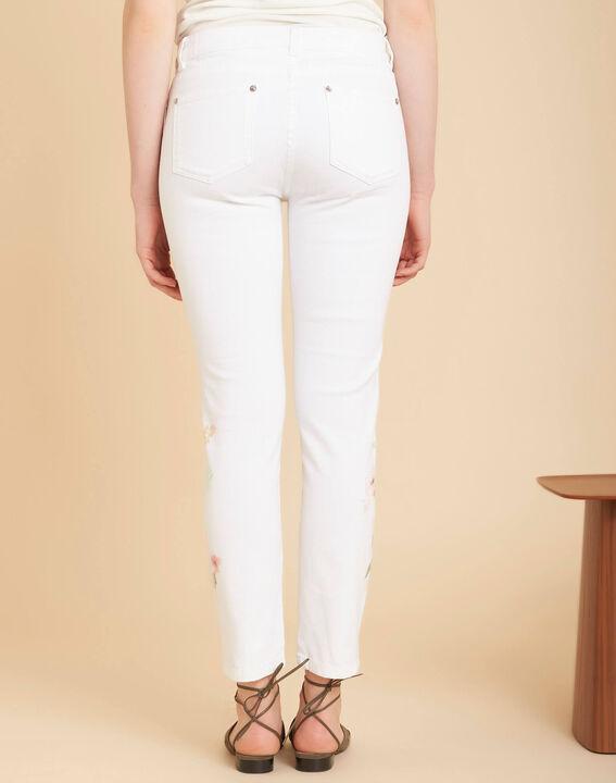 Witte 7/8-jeans met print Vendôme (4) - 37653