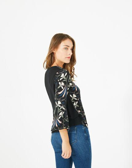 Tee-shirt imprimé floral Begonia (5) - 1-2-3