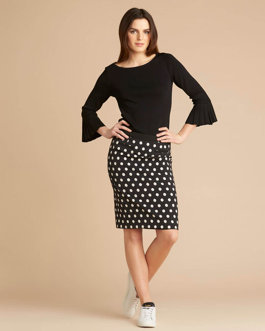 Falcon polka dot skirt (2) - 1-2-3