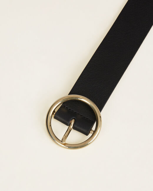 Olivia chic black leather belt (1) - 1-2-3