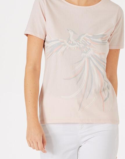 Tee-shirt poudre imprimé phoenix Butterfly (3) - 1-2-3