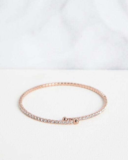 Bracelet brillant rose gold Olympe (2) - 1-2-3