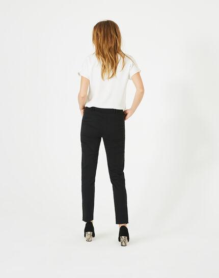 Kloe black 7/8 length trousers (5) - 1-2-3