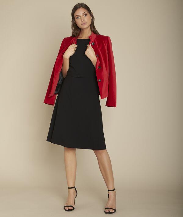 Rote Jacke aus Samt Bergame PhotoZ | 1-2-3
