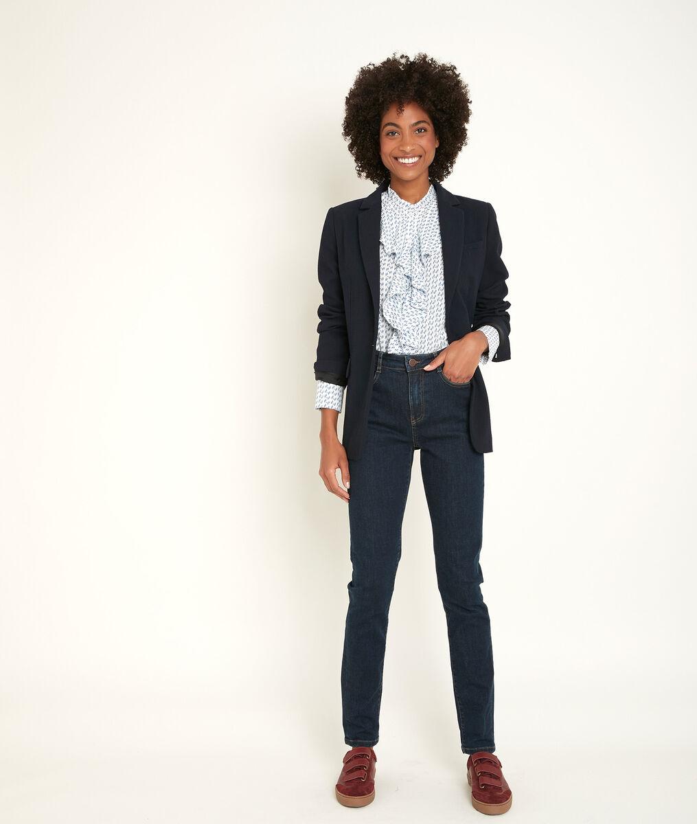 De iconische ruwe slim-fit jeans met used effect Suzy PhotoZ | 1-2-3