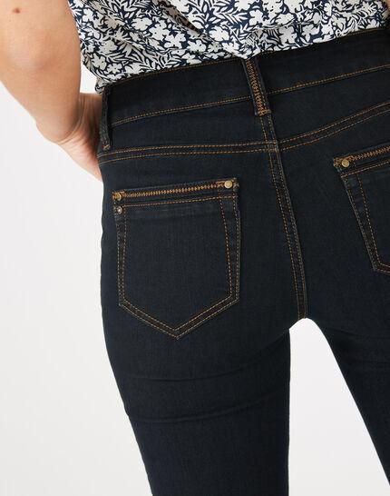 Schwarze 7/8-Jeans Pia (4) - 1-2-3