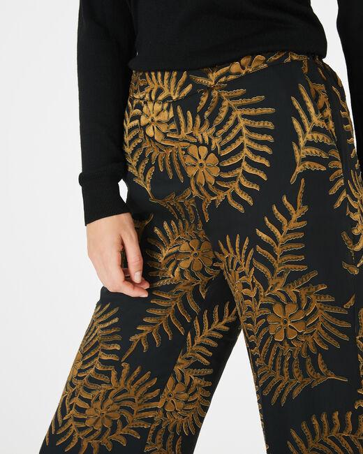 Pantalon imprimé floral Kara (1) - 1-2-3